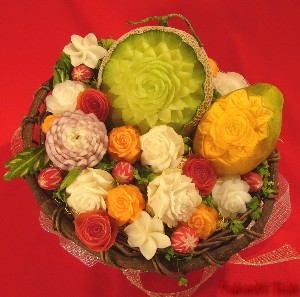 Fruits & Vegetables Gift Baskets by Takashi Itoh.