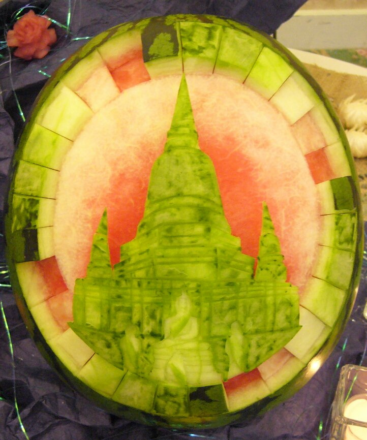 Watermelon Carving: Grand Chef.